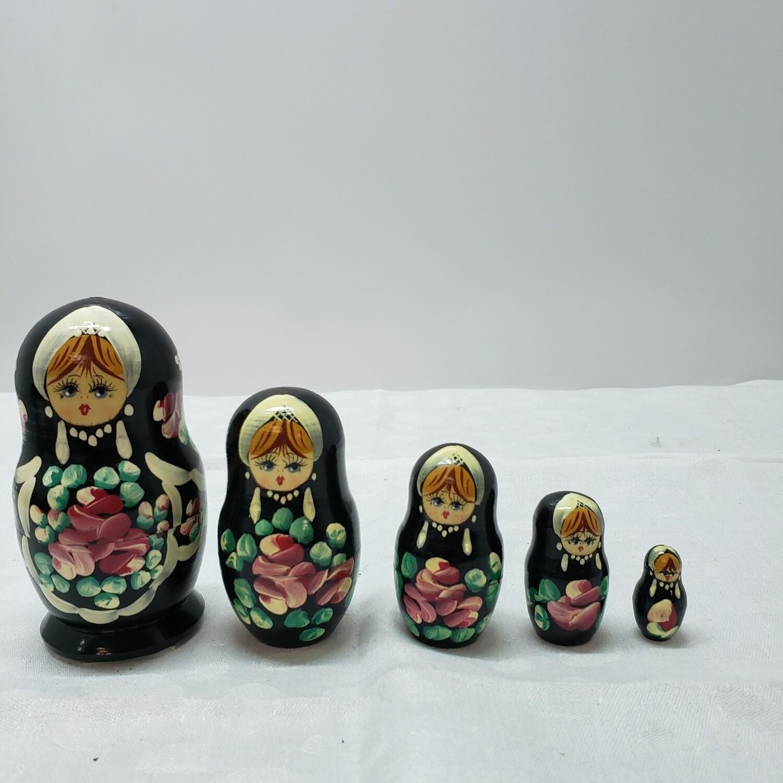Matryoshka doll - Stacking Dolls - 5 dolls