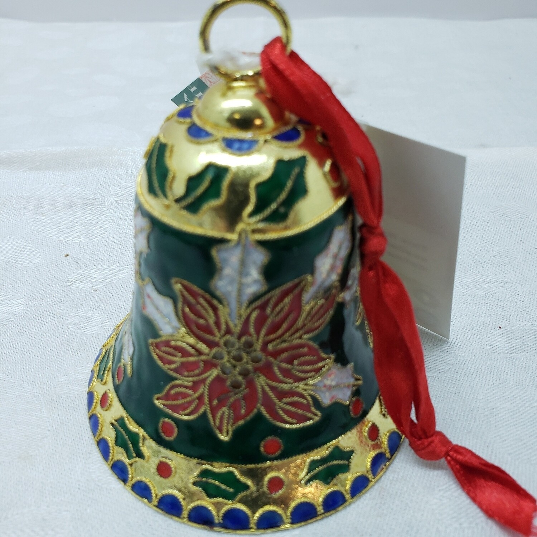 Cloisonné Christmas Bell