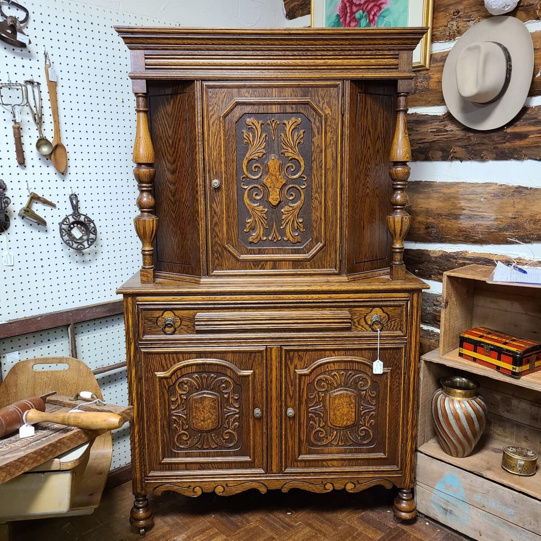 Vintage Ornate Cabinet