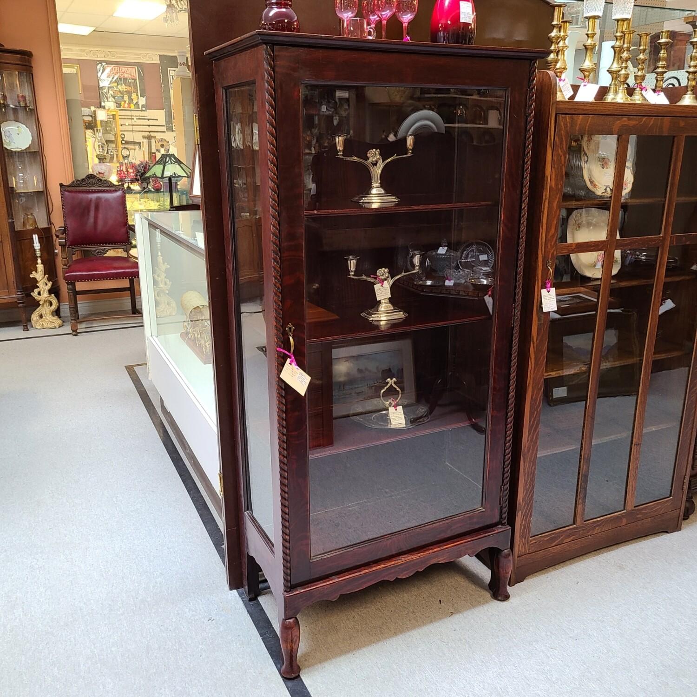 Antique Three Shelf Oak Book Shelf