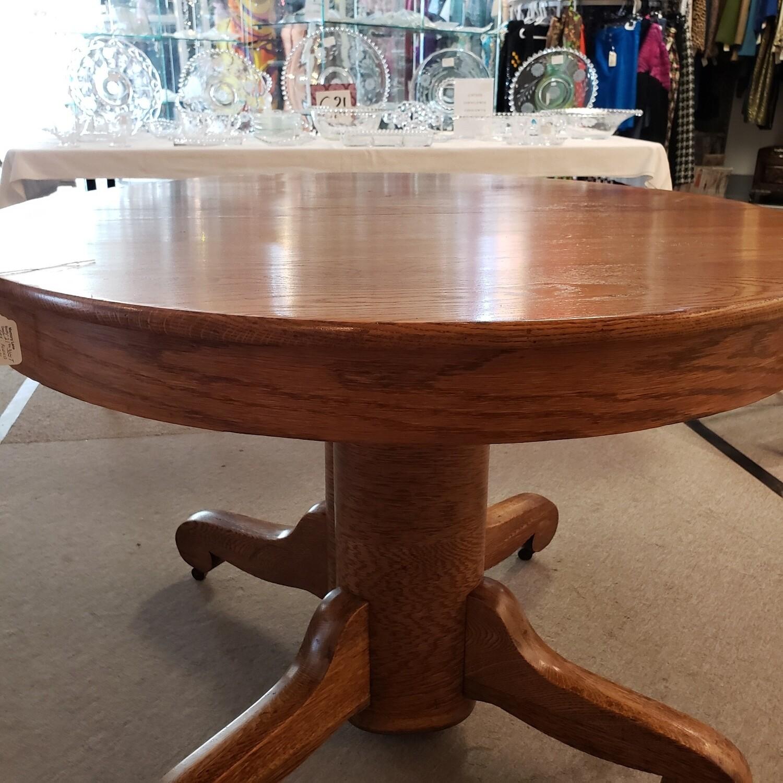 "Round Oak Tilt Table 42"" Round"