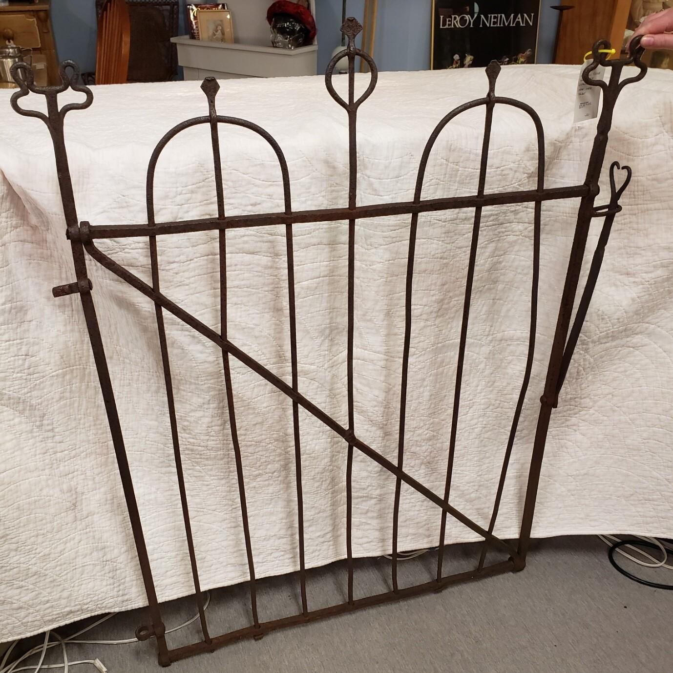 Rare Hand Forged Gate Circa 1870 - V94