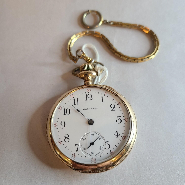 Waltham Pocket Watch, Sub Second Dial