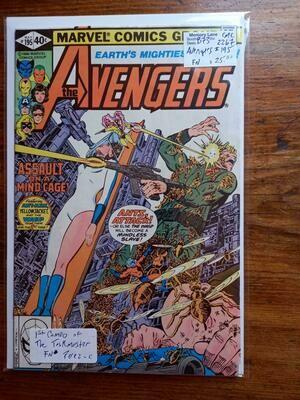 Avengers # 195 - Comic - B73