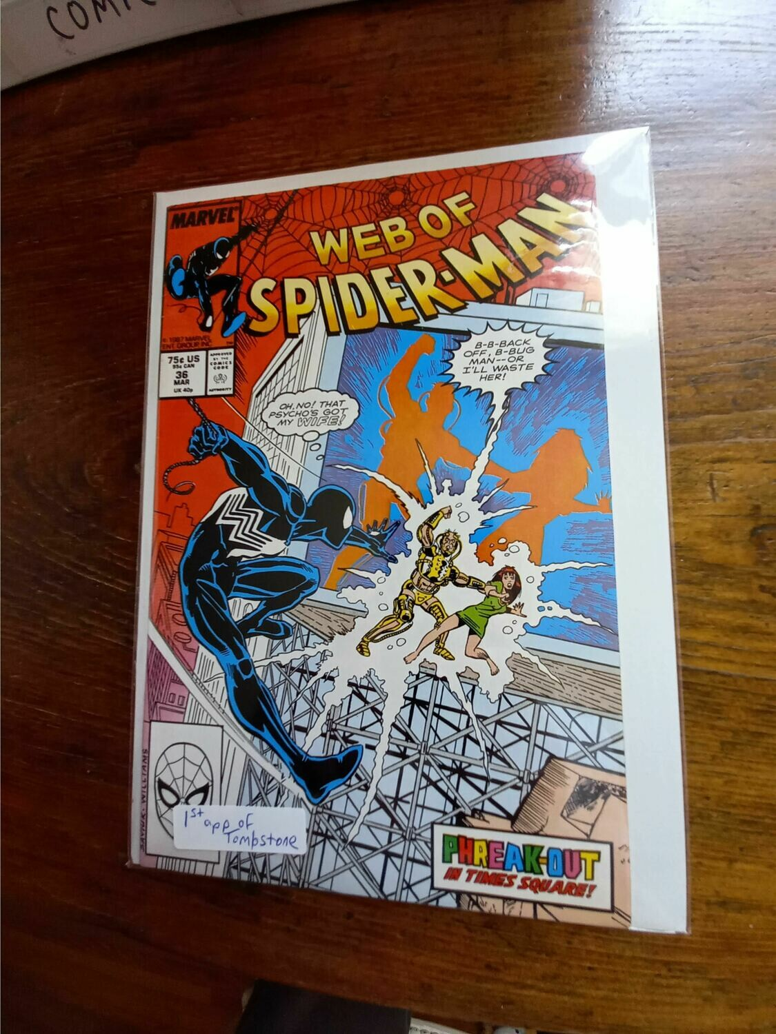 Web of Spiderman # 36  - Comic - B73