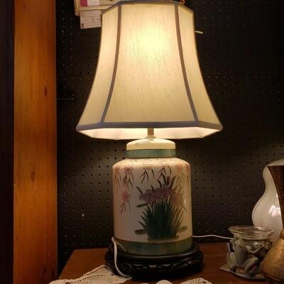 Ginger Jar Lamp - B67
