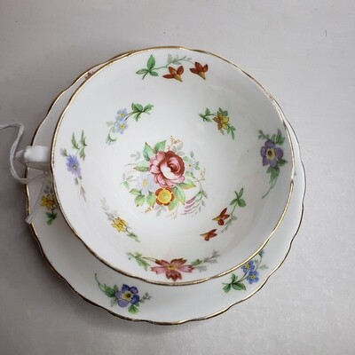Tuscan English Bone China -  Tea Cup & Saucer - Booth B52