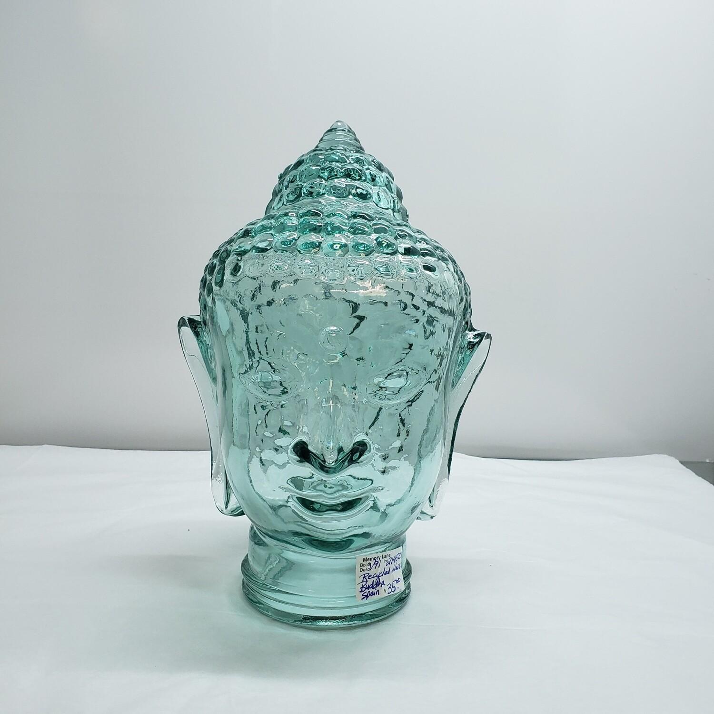 Glass Buddha Head - V91