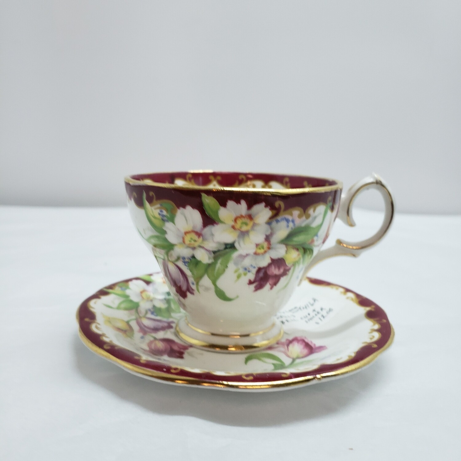 Bell China -  Tea Cup & Saucer - Booth A123