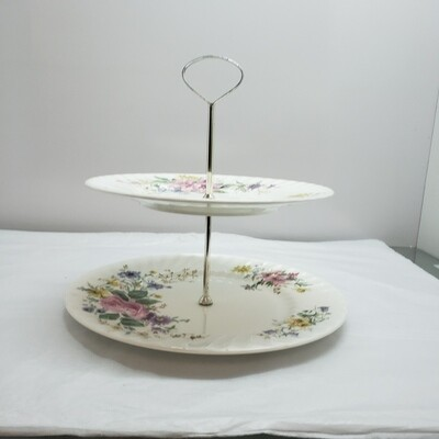 Royal Doulton 2 Tiered Dainties Server - B42