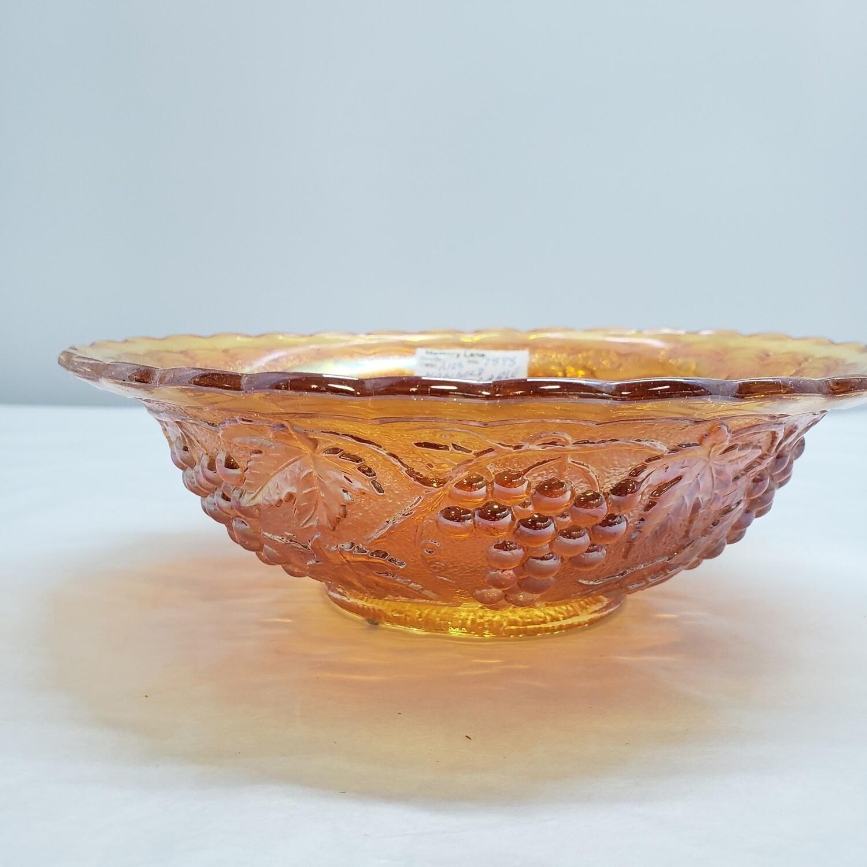 Carnival Glass Bowl - A123