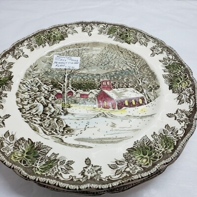 Friendly Village - Johnson Brothers -  Dinner Plate  - Booth A123