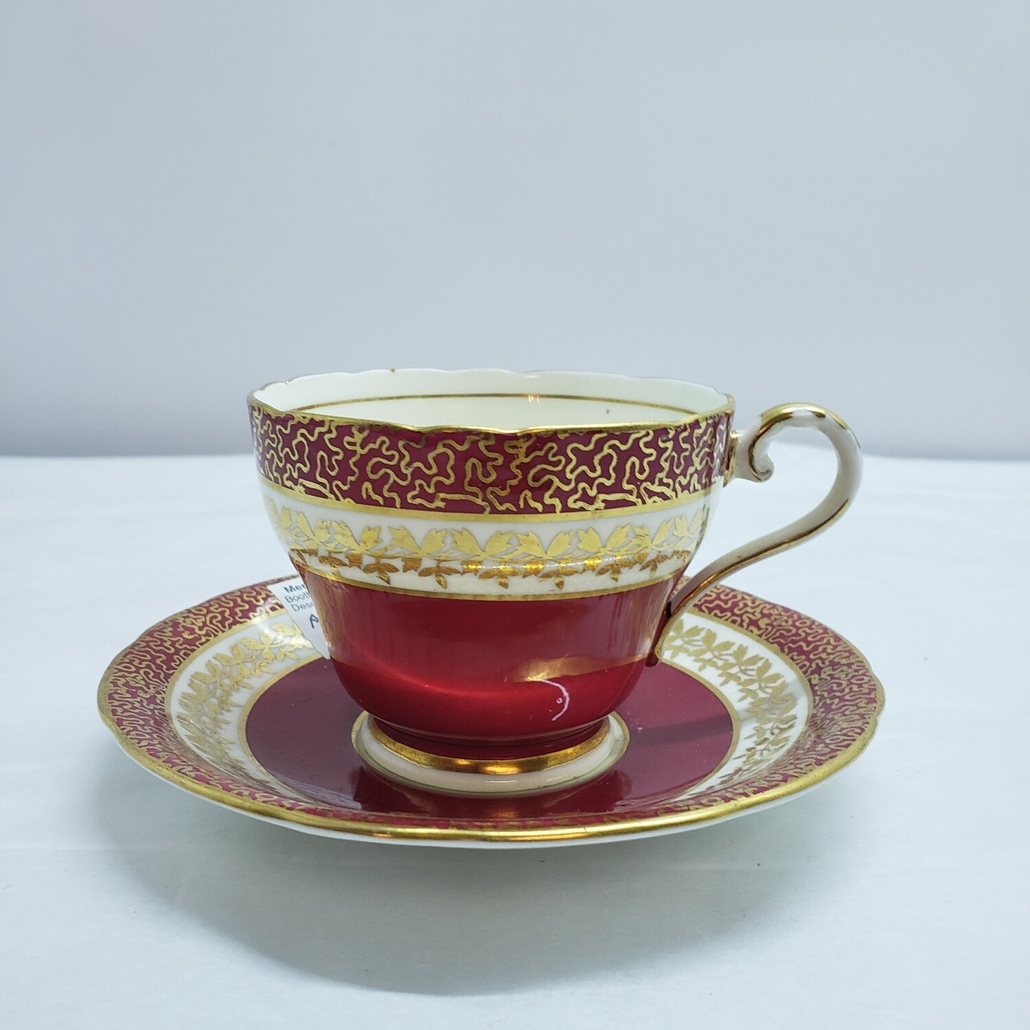Aynsley - Cup and Saucer - A123