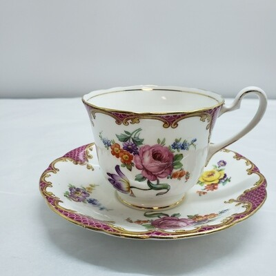 Aynsley - Cup and Saucer - B43