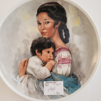 1980 Mothers Day Plate - Americans by Leo