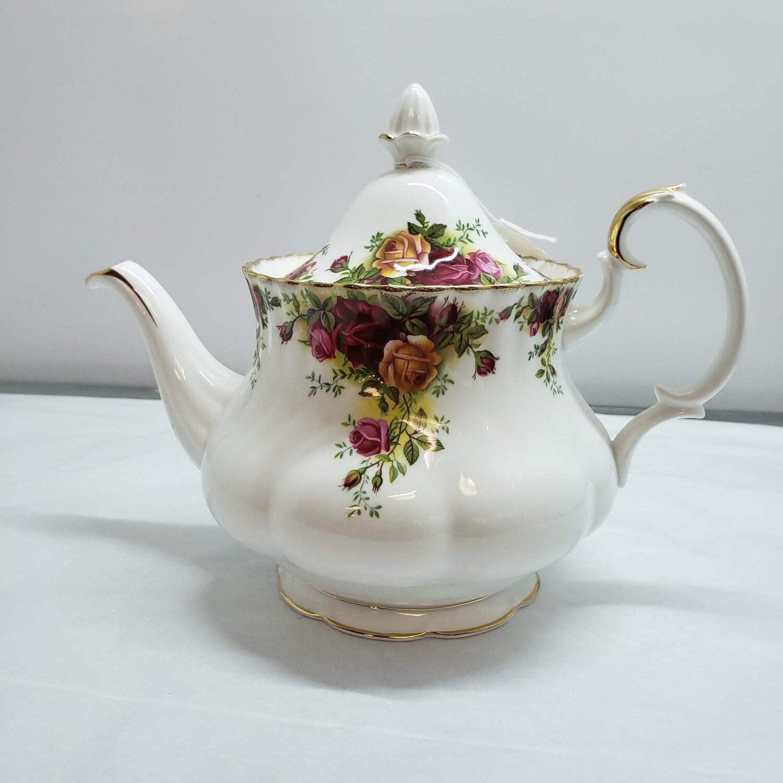 Royal Albert Teapot  - Old Country Roses - C21