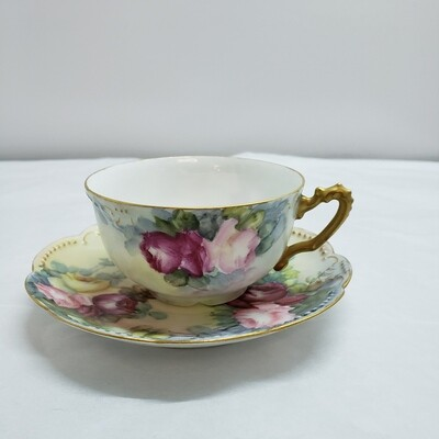 French - Cup & Saucer - A25