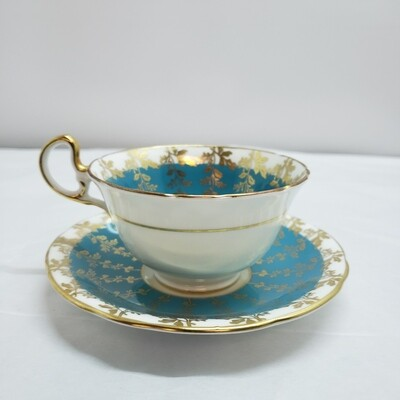Aynsley - Cup and Saucer - Art Deco B43