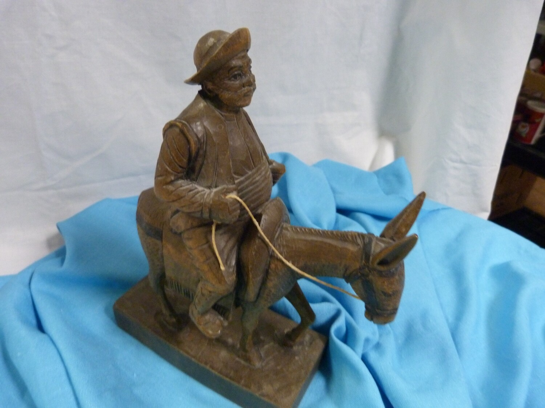 Sancho Panza  - Wood Sculpture - B85