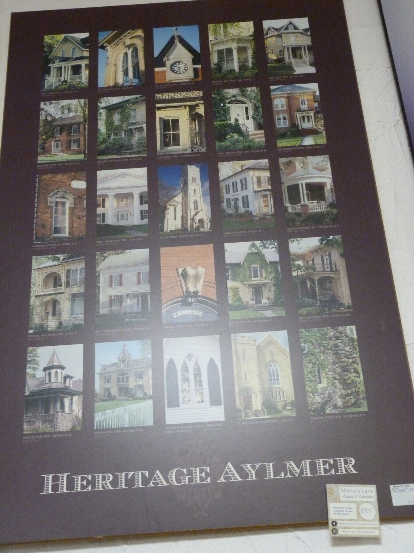 Heritage Aylmer Print in Frame - B85