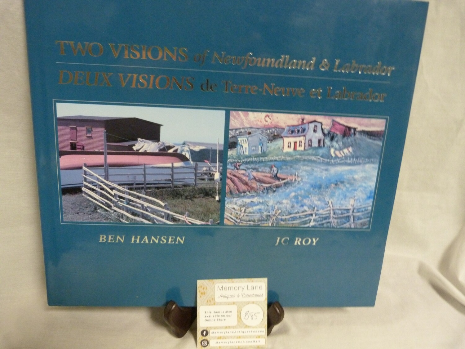 Coffee Table Book - Two Visions of Newfoundland and Labrador - B85