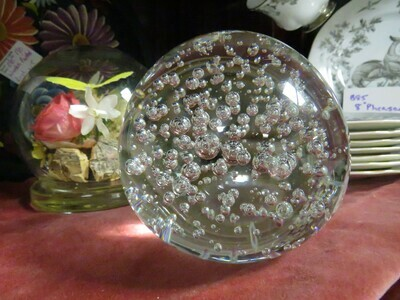 Bubble Glass Paperweight - B85