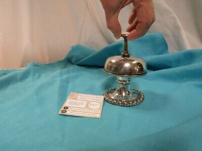 Push Bell Vintage - silver plate - B85