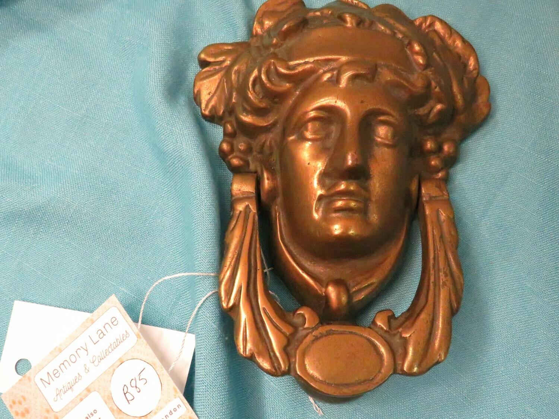 Vintage Brass Door Knocker - B85