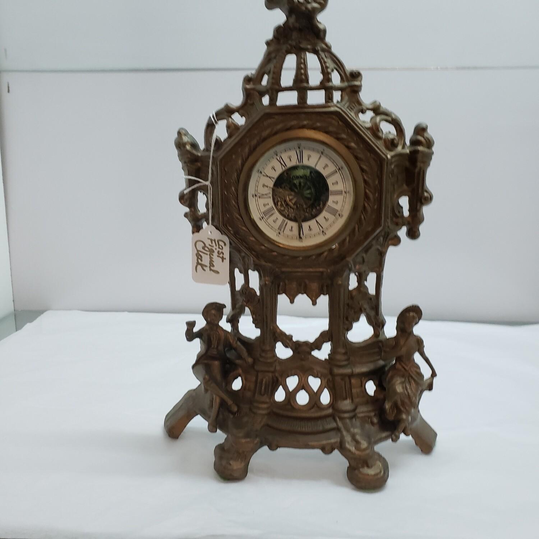 Cast Figural Clock - V91