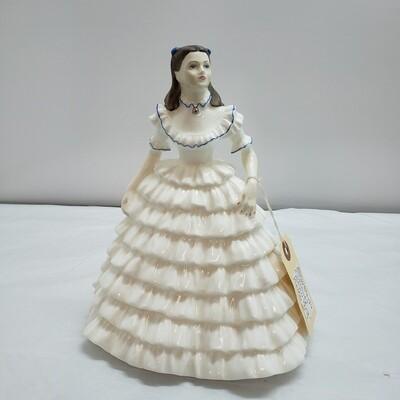 "Coalport Porcelain Figurine ~ ""Melanie"" - C62"