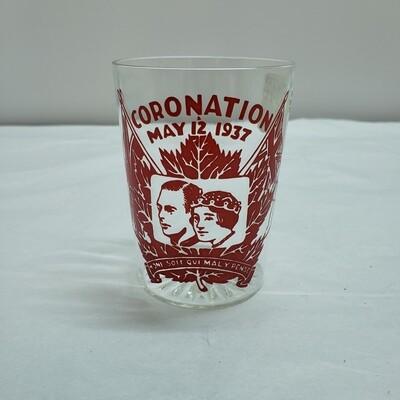 1937 Coronation glass - C62