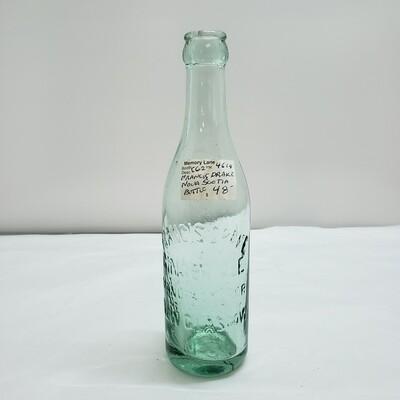 Francis Drake Nova Scotia Bottle - C62