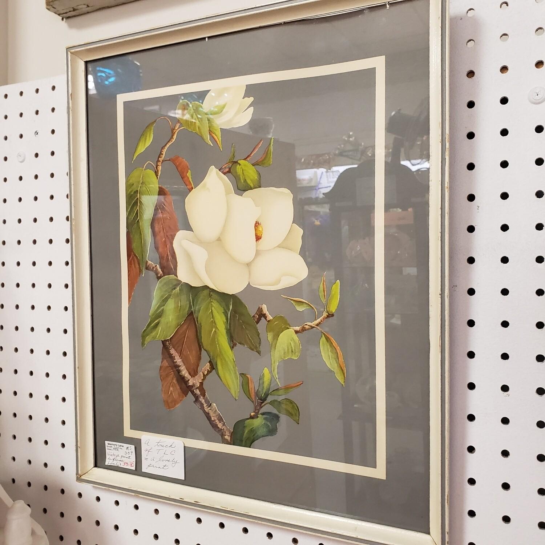 Vintage Floral Print - A92