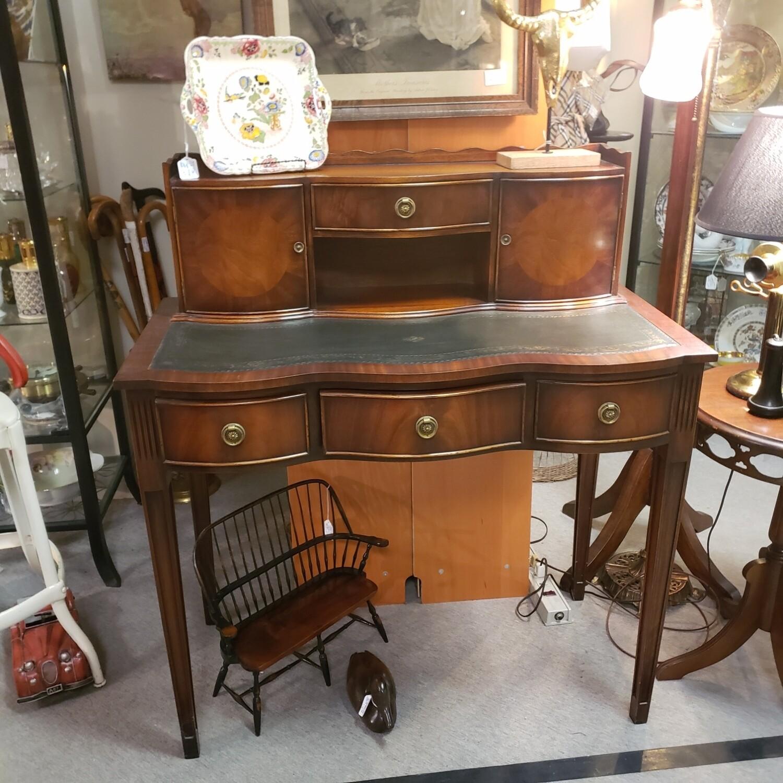 Vintage Leather Topped Desk - V91