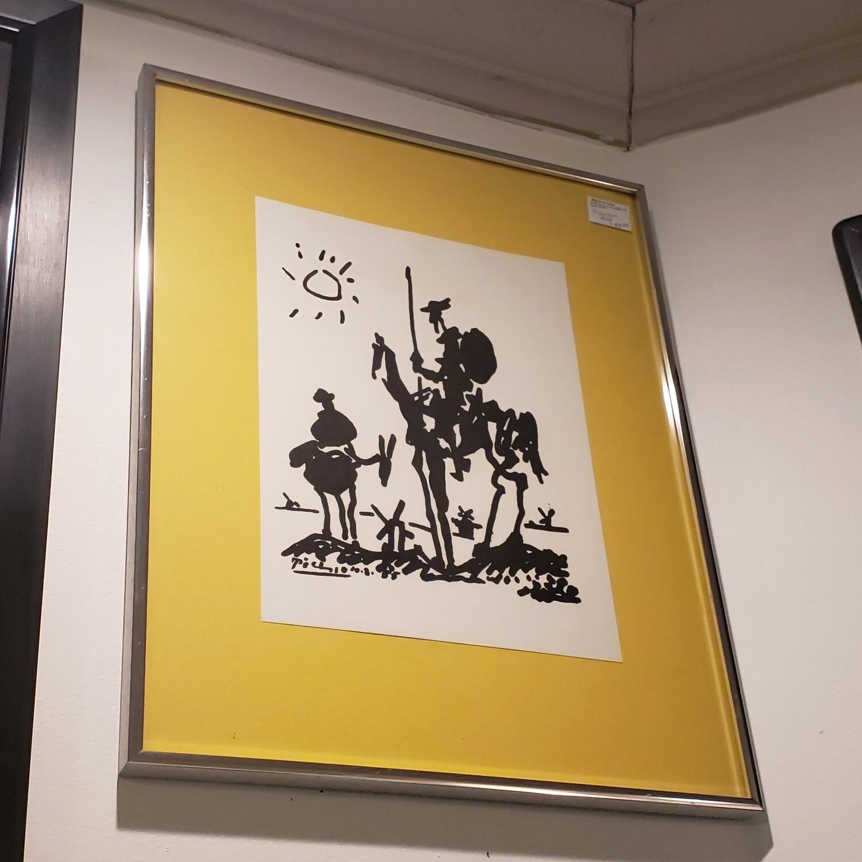 Picasso Print Don Quixote - B34