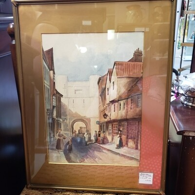 English Water Colour Painting circa 1880 - B111