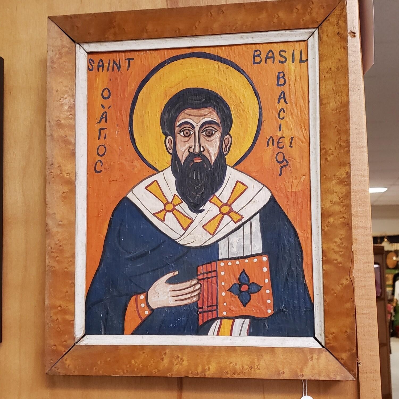 Saint Basil Oil Painting - V94