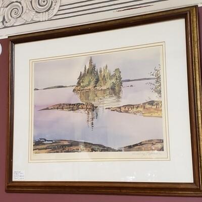 Print landscape signed- B52