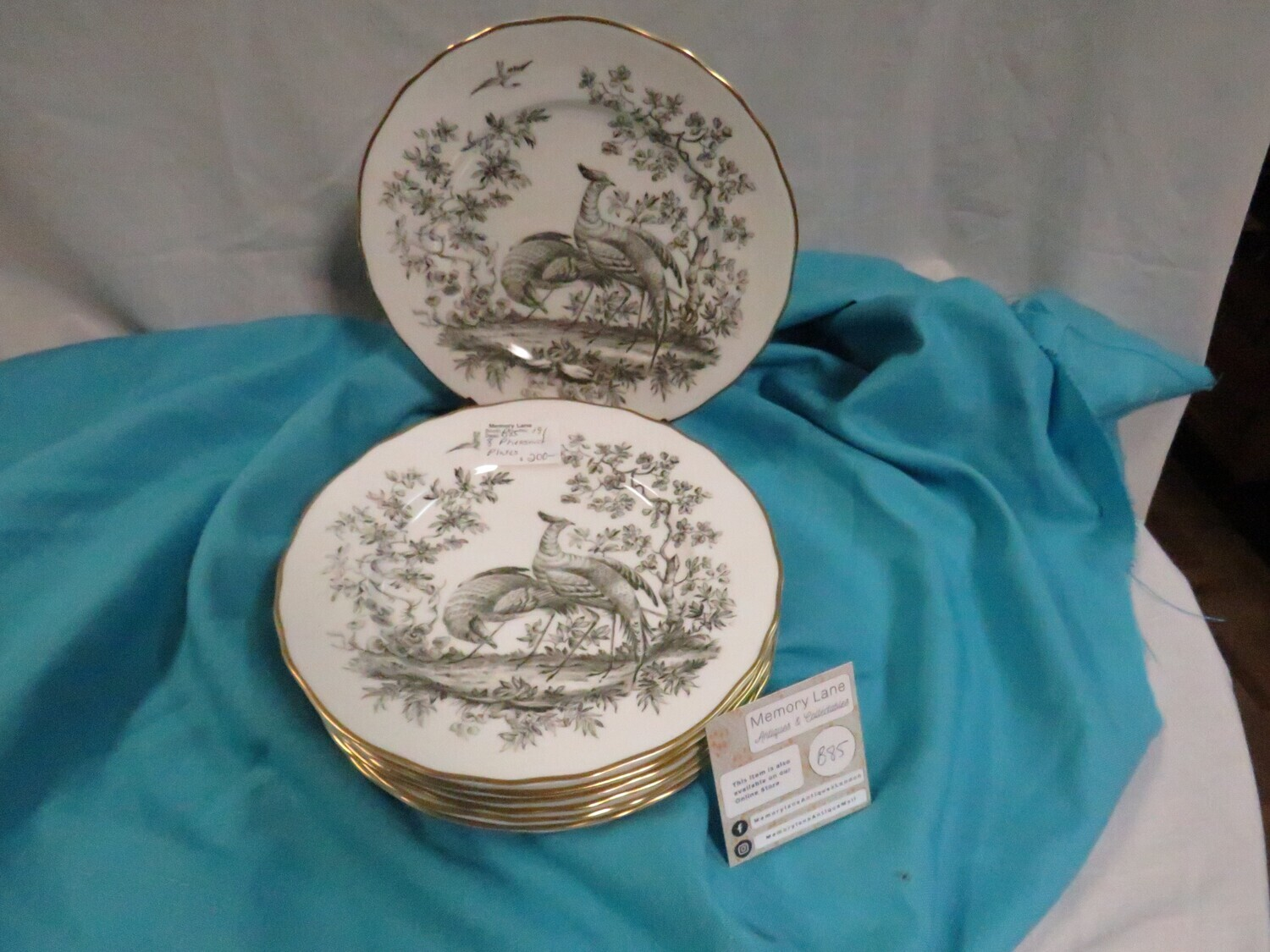 Royal Worcester Luncheon Plates  - Booth B85