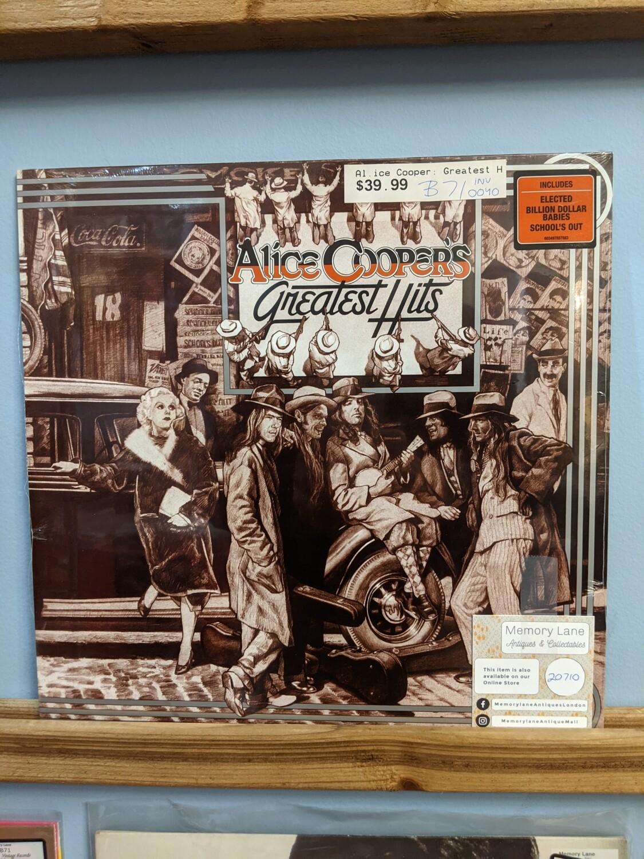 Alice Cooper - LP - Greatest Hits