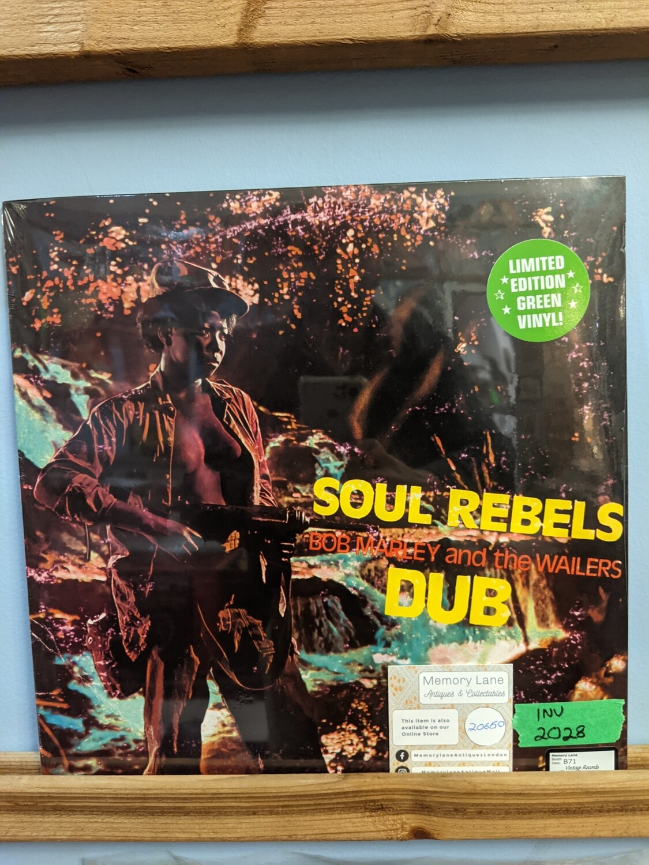 Bob Marley - LP - Soul Rebel Dub