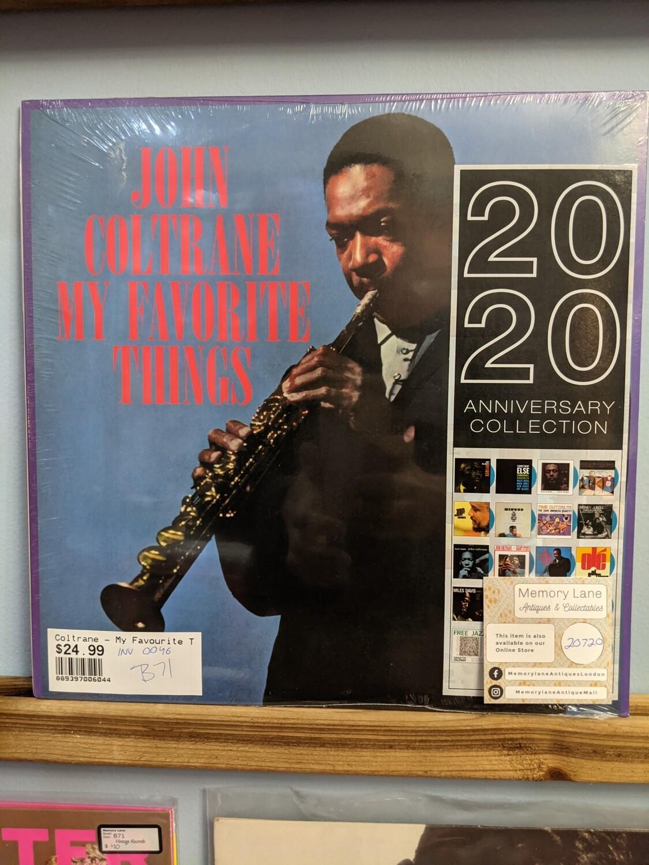 John Coltrane - LP - My Favorite Things