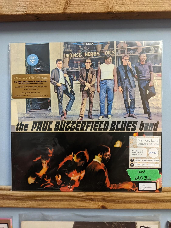 Paul Butterfield Blues Band - LP - LTD Flame Colour Vinyl