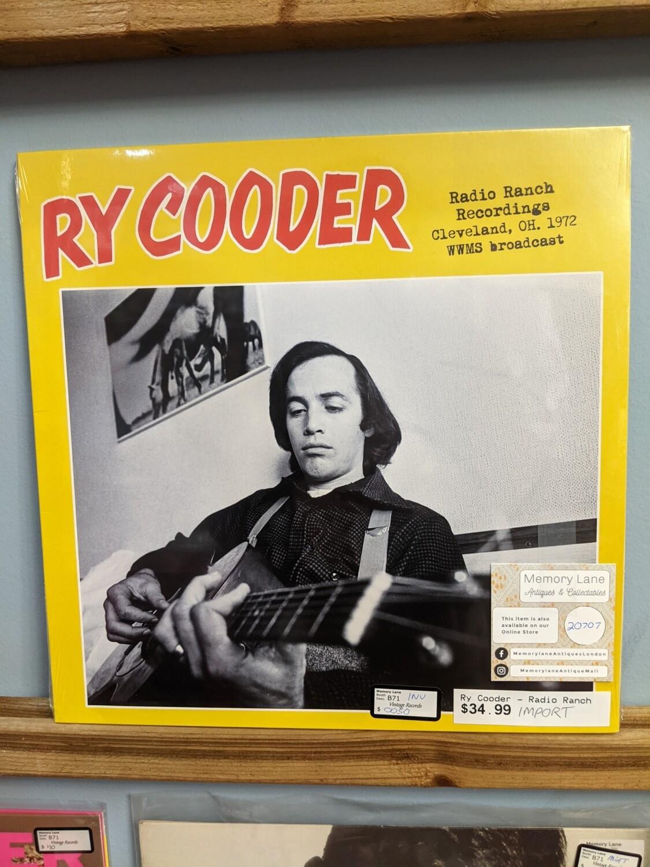 Ry Cooder - LP - Radio Ranch Recordings