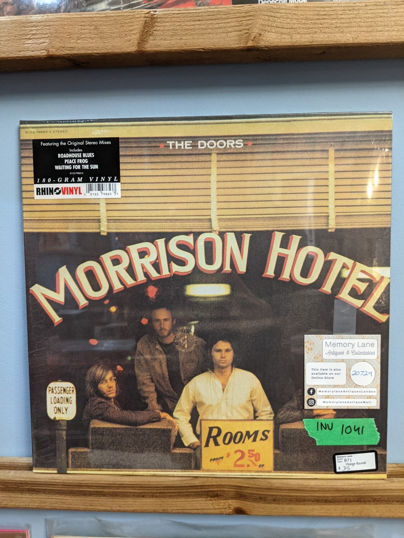 The Doors - LP - Morrison Hotel