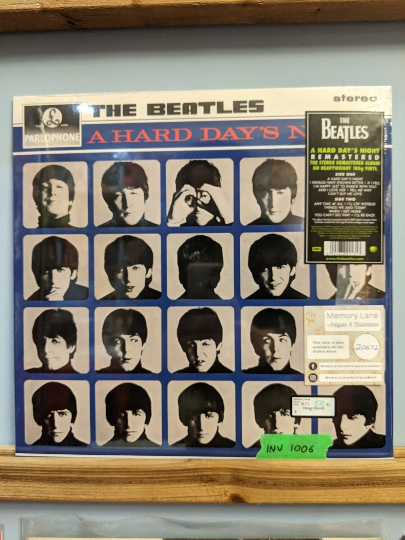 Beatles - LP - Hard Days Night