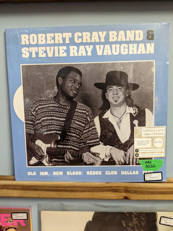 Robert Cray Band and Stevie Ray Vaughan - LP - Old Jams, New Blood