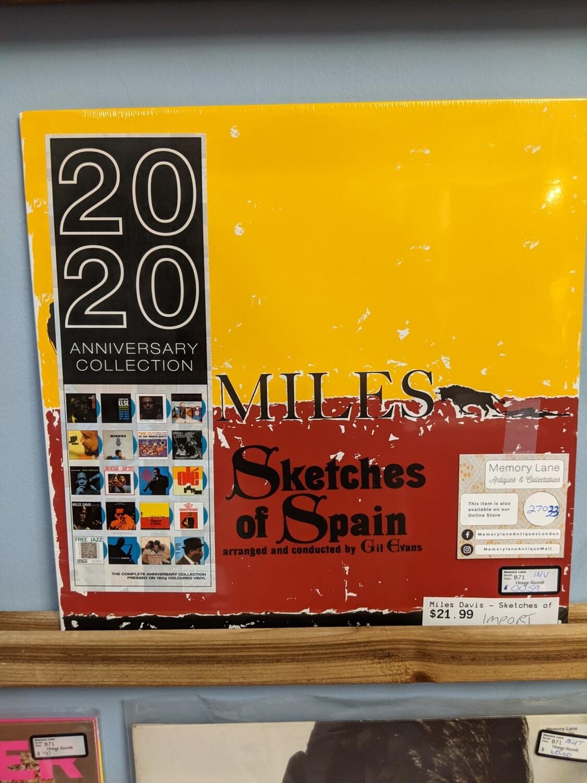 Miles Davis -  LP - Sketches of Spain