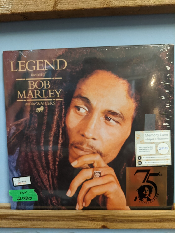 Bob Marley - LP - Legend (Best Of)