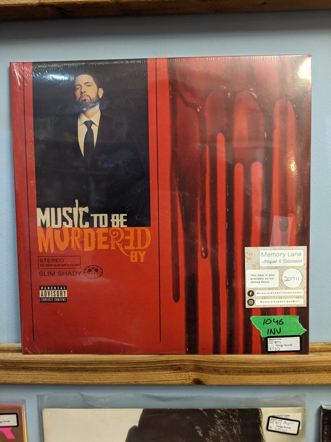 Eminem - LP - Music To Be Murdered By